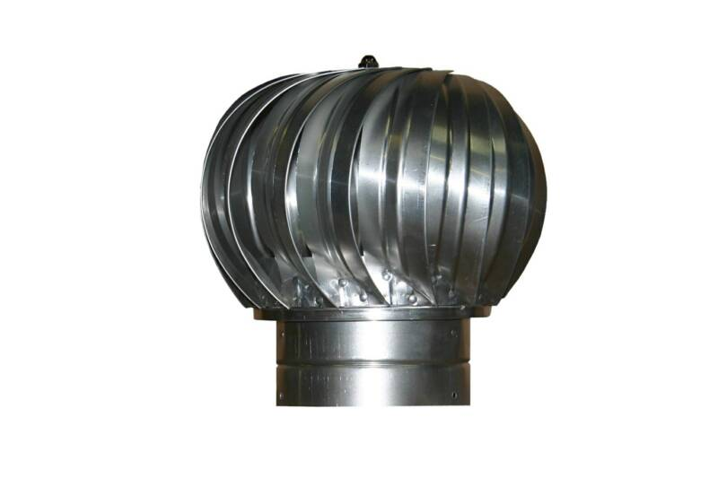 industrial turbine vent for rooftop