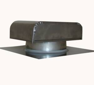 rust and decay resistant stainless steel roof range vent