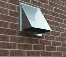 quality stainless range hood wall vent
