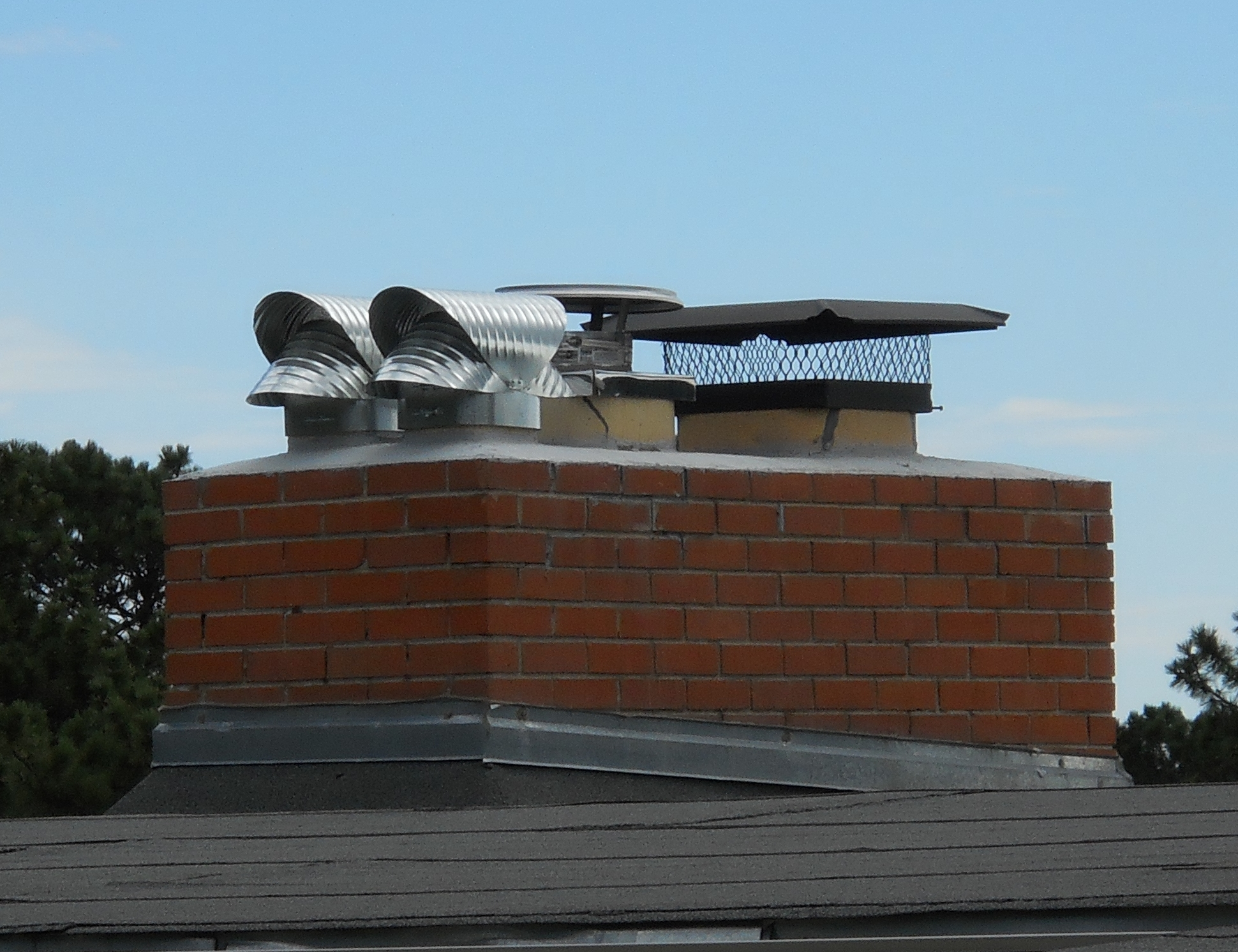 stainless steel chimney toppers